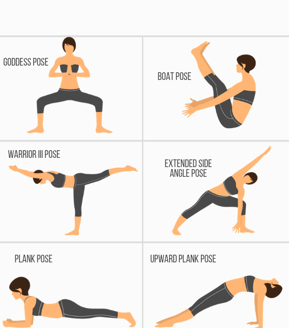 Feeling heavy physically & mentally? a calm yoga workout is your best option to free your mind & burn belly fat. Here's How to use yoga for