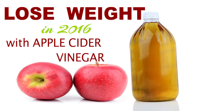 Add 3 tbsp of Appel Cider Vinegar to your daily drinks to lose fat in 2016