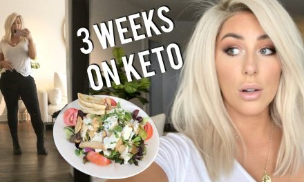 Keto is Making Me Sick + Food Shopping- Weight Loss Vlog Ep. 3 CHRISSPY